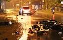 Bình Dương: 9 người nằm la liệt trên đường sau cú mất lái của ôtô