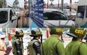 Cảnh sát dày đặc ngày đầu trạm BOT Biên Hòa thu phí trở lại