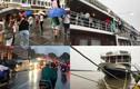 Cận cảnh tàu nhà hàng, du lịch ở TP.HCM ngưng hoạt động vì bão số 12