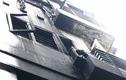 HN: Cháy dữ dội kèm tiếng nổ lớn trên đường Nguyễn Chí Thanh