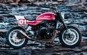 Kawasaki Z900RS Stone Tracker phong cách chúa tể bóng đêm