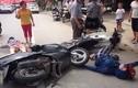 Nghệ An: Xe máy đối đầu nhau, 2 phụ nữ nguy kịch