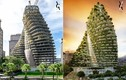 Choáng váng với thiết kế tòa nhà có hàng vạn cây xanh