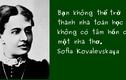 Chuyện đời ít biết về nữ hoàng toán học Sofia Kovalevskaia