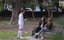 Hài hước đóng giả Cristiano Ronaldo đi tán gái