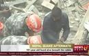 Cụ ông 101 tuổi sống sót sau 7 ngày động đất Nepal