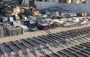 """Cận cảnh kho vũ khí """"khủng"""" của IS bị tịch thu ở Deir Ezzor"""