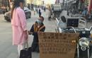 Xót xa cô gái bán cái ôm cứu bạn trai ung thư
