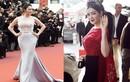 Váy tiền tỷ gây choáng của Lý Nhã Kỳ tại các mùa Cannes