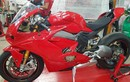 """Siêu môtô Ducati V4 Panigale """"lộ hàng"""" trước ngày ra mắt"""