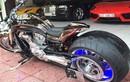 """Môtô Harley V-Rod """"hàng khủng"""" của đại gia Y tế Sài Gòn"""