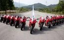 """Dàn siêu môtô Ducati Panigale """"khoe dáng"""" tại Hà Nội"""