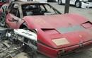 Cháy rụi như đồng nát siêu xe Ferrari vẫn bán 1 tỷ đồng