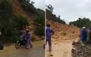 Sạt lở trong mưa lũ ở Quảng Ninh, nhiều người thoát chết