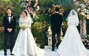 Soi váy cưới 3,1 tỷ đồng của Song Hye Kyo trong hôn lễ