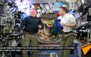 Phi hành gia gửi lời chúc mừng năm mới 2015 từ ISS