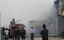 Cháy ngùn ngụt tại Công ty TNHH Bông Thái Bình