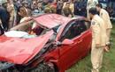 Tài xế đã tử vong trong chiếc ôtô nằm dưới lòng sông