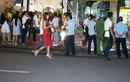 Hàng xóm lên tiếng vụ quán của Phạm Hương bị tạt sơn