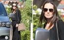 Angelina Jolie lần đầu lộ mặt chốn công cộng sau ly hôn