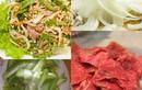 Học làm gỏi bò bóp thấu siêu ngon tại Khoảng lặng Hương Sen