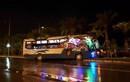 Hoảng vía xe khách đâm xe tải ở gần sân bay Nội Bài