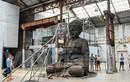 Độc đáo tượng Phật khổng lồ làm từ tro hương