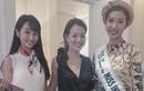 Á hậu Thúy Vân nổi bật với áo dài Việt tại Nhật