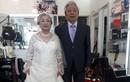 Cặp đôi U80 Hải Phòng làm đám cưới kim cương gây sốt