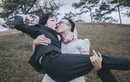 """Cặp đôi Lâm Đồng chụp ảnh cưới hoán đổi siêu """"dị"""""""
