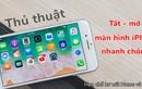 Khóa và mở màn hình cực nhanh trên iPhone - Không cần sử dụng phím nguồn
