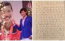 Ánh Viên viết thư tay gửi NHM trước khi sang Mỹ