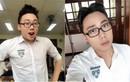 Hot boy Gino Tống xuất hiện với vẻ ngoài thư sinh