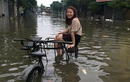 Hình ảnh mưa lũ Nghệ An khiến lòng người xót xa