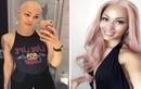 Bỏ tóc giả, nữ y tá đầu trọc chuyển nghề làm người mẫu