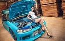 Ngắm chân dài châu Á đọ dáng bên xế độ Nissan Silvia