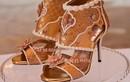 Giày cao gót nạm kim cương vàng miếng, đắt hơn cả siêu biệt thự