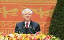 Tổng Bí thư Nguyễn Phú Trọng phát biểu tại chương trình chào mừng thành công ĐH Đảng