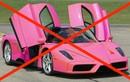 """""""Tiền tấn"""" cũng không mua được siêu xe hồng từ Ferrari"""