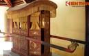 Cận cảnh chiếc kiệu cổ tuyệt đẹp ở Tử Cấm Thành Huế