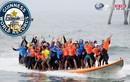 Mãn nhãn màn lướt ván tập thể lập kỷ lục thế giới