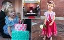 Đại tiệc cho cô bé ung thư giai đoạn cuối xinh như thiên thần