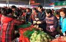 Khung cảnh chợ Tết ở Trung Quốc qua ảnh