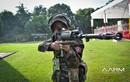 Danh tính khẩu súng lạ Lào mang đến tham dự AARM 2017