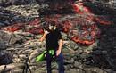Video: Máy ảnh vẫn hoạt động khi chìm trong… nham thạch núi lửa