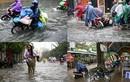 Chùm ảnh cuộc sống của người Sài Gòn đảo lộn vì mưa dầm dề