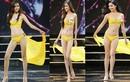 Thí sinh Hoa hậu Hoàn vũ VN nuột nà với bikini trong bán kết