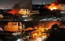 Cháy kinh hoàng xưởng sản xuất mút giữa khu dân cư