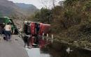 Hòa Bình: Xe bồn đâm xe khách, 2 người tử vong