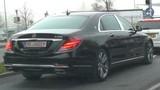 Xuất hiện ảnh thực tế của Mercedes-Maybach S400